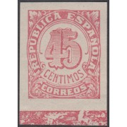 España Spain NE 29s 1938 No Emitidos No expendidos Cifras MNH