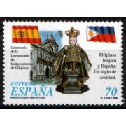 España Spain Emisión Conjunta 1998 España - Filipinas Basílica Niño del Cebú