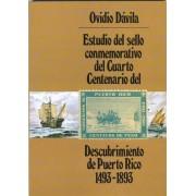 Estudio Sello Puerto Rico 4to. Cent. Descubrimiento Nº 101 1493 - 1893