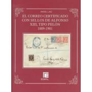 Catalogo Edifil Correo certificado - Alfonso XIII ( Pelón ) 1889 - 1901 Laiz