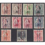 España Spain 593/603 1931 Alfonso XIII MNH Sellos