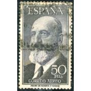 AJZ2 España Spain 1165 (1164/65) 1955/56 Fortuny y Torres Quevedo Año Usado