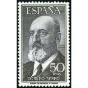 AJZ2 España Spain 1165 (1164/65) 1955/56 Fortuny y Torres Quevedo MNH