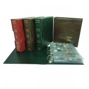 Safi Album cava gigante 5 hojas tranp. 36 departamentos verde
