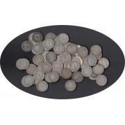 Monedas 1 pta plata variadas Alfonso XII , Alfonso XIII