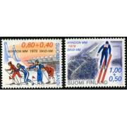 DEP4  Finlandia Finland  Nº 780/81  1978   MNH