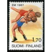 DEP4 Finlandia Finland  Nº 977   1987   MNH