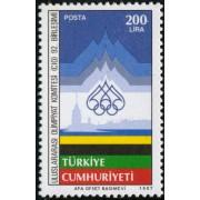 OLI1 Turquia Turkey  Nº 2535   1987    MNH