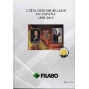 CATÁLOGO FILABO SELLOS DE ESPAÑA 1850 - 2016