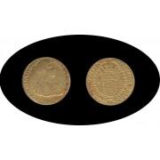 España Spain 2 escudos 1808 Sevilla CN Fernando VII Fendinan Oro Au