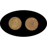 España Spain 2 escudos 1809 Sevilla CN Fernando Ferdinan VII Oro Au