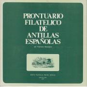 Prontuario Filatélico de Antillas españolas 1977 Ed. Monge