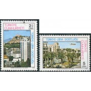 TRA2 Turquia Turkey Nº 2231/32  1978   MNH