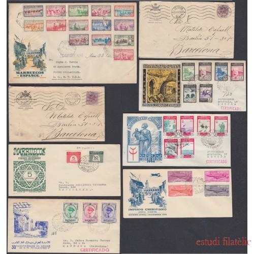 Colección Collection Marruecos Español Spanish Morocco Historia Postal