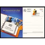 España Spain Entero Postal ( tarjeta ) 187 2011 Día Internacional de la Mujer