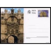España Spain Entero Postal 189 ( tarjeta ) 2012 Patrimonio Arco de Santa María Burgos