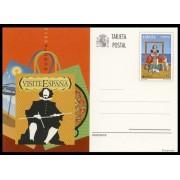España Spain Entero Postal 190 ( tarjeta ) 2012 Europa Visite España Velazquez