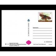 España Tarjetas del Correo y de Iniciativa Privada 88 2010 Arquitectura postal Mariposa Butterfly