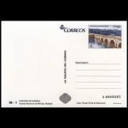 España Tarjetas del Correo y de Iniciativa Privada 91 2013 Arquitectura postal Puente Romano Badajoz