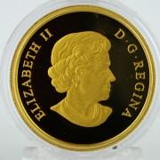 Monedas Canada 200$  Henry Hudson  2015  Oro Proof