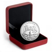 Monedas Canada 1$  50 Aniversario de la Bandera  2015  Plata  Proof