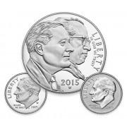 Monedas USA 1$  2015