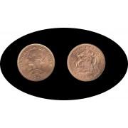 Chile 100 pesos 10 condores 1947 Au Oro gold