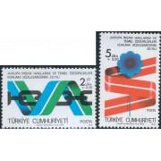VAR3 Turquia Turkey Nº 2233/34  1978   MNH