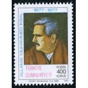 VAR3 Turquia Turkey Nº 2203  1978   MNH