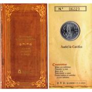 España Spain 2004 Cartera Oficial Moneda 12€ euros Isabel La Católica Plata FNMT