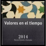 Libro Album Oficial de Sellos España y Andorra Año Completo 2014 Incluye Pruebas de Lujo