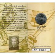 España Spain 2006 Cartera Oficial Moneda 12€ euros Cristobal Colon Plata FNMT