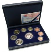 España Spain 2002 Cartera Oficial Euros € Estuche Euroset Proof  + 12 € Plata Aniv. UE FNMT