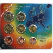 España Spain 2003 Cartera Oficial Euros € FNMT