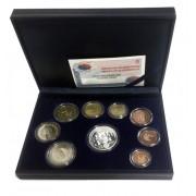 España Spain 2003 Cartera Oficial Euros € Estuche Euroset Proof  + 12 € Plata Aniv. Constitución