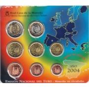 España Spain 2004 Cartera Oficial Euros € FNMT