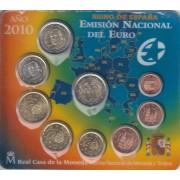 España Spain 2010 Cartera Oficial Euros + 2€ Conmemorativos Mezquita Córdoba FNMT
