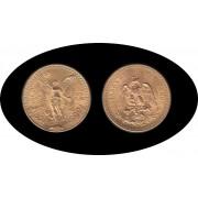 Mexico Mejico 50 pesos mejicanos 1922 37,5 gramos de oro puro Au