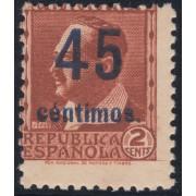 España Spain NE 28 1938 No Emitido No expendido Blasco Ibañez MH