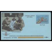 España Aerograma  226  2014 Fuerzas Armadas Misiones Humanitarias Avión Plane