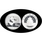 China  onza de plata  Oso  Panda  2014 Sylver