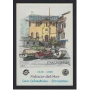 España Tarjetas del Correo y de Iniciativa Privada 48 1998 San Sebastián Palacio del Mar 1er día