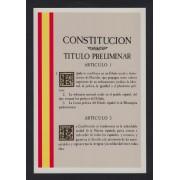 España Tarjetas del Correo y de Iniciativa Privada 53 1998 Muestra Filatelia Córdoba Constitución