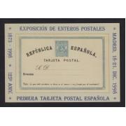 España Tarjetas del Correo y de Iniciativa Privada 54 1998 125 Aniv. Tarjeta Postal