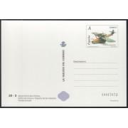 España Tarjetas del Correo y de Iniciativa Privada 85 2007 Arquitectura postal Avión 1er Día