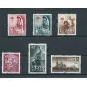 España Spain Año Completo Year Complete 1953 sin 1124/25 MH