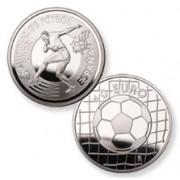 España Spain Monedas Euros conmemorativos 2002 Fútbol 10 euros plata delantero