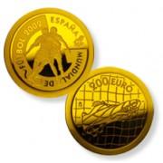 España Spain Monedas Euros conmemorativos 2002  Futbol 200 euros jugadores Oro