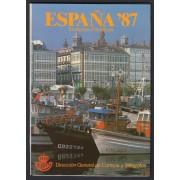 Libro Oficial Correos España 1987