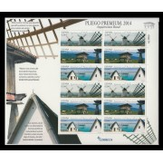 España Pliego Premium 1 2014 Arquitectura Rural Molino Barraca Hórreo MNH